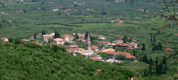 Village in the north of Zakynthos