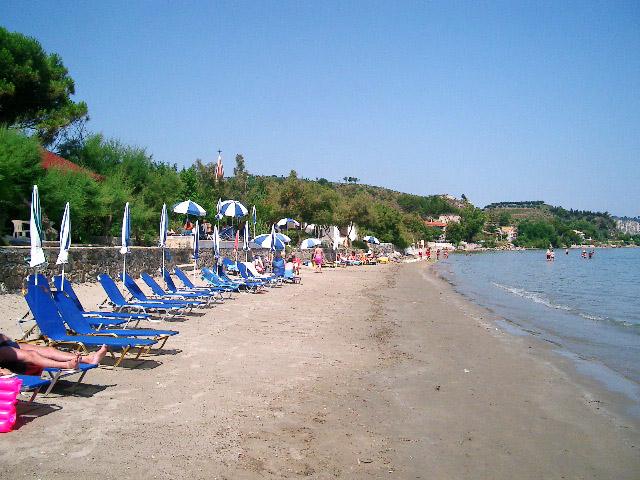 Zakynthos Beaches On The Eastern Coast Of Zakynthos