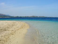 Beach of Marathonissi