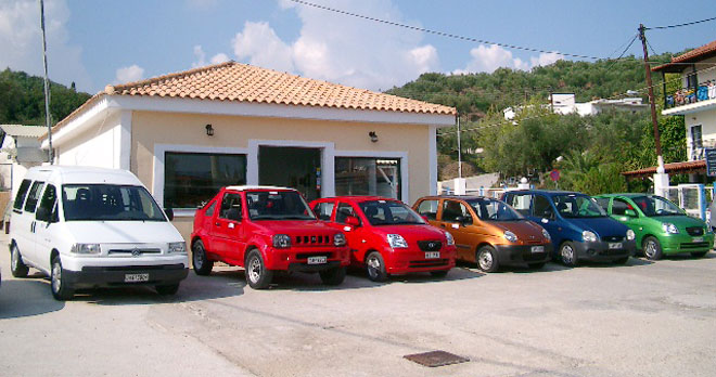 Noleggio Zakynthos Car Rental Tsilivi